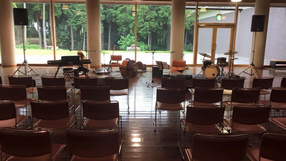 美濃加茂文化の家でコンサートでした。