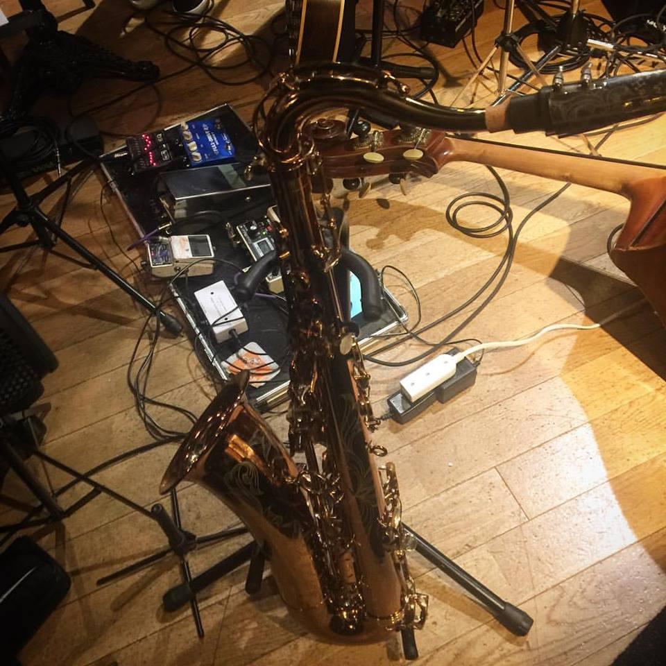 砂掛康浩カルテット feat. 浜崎航 これまで別の楽器のスタンドだと思っていました。