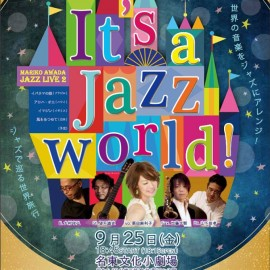 9/25 It's a Jazz world