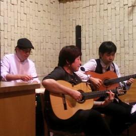 10/25 柿木有加子 + 伊藤史和&山下佳孝 珈琲そうふぁ