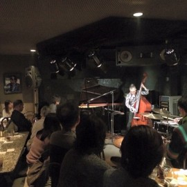 TRISPACE @ Jazz Inn Lovely でした。